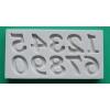 Tähestik ja numbrid (silikoon-, press- ja lõikevormid)
