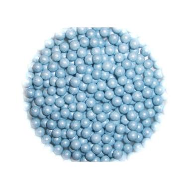 Helesinised (pärlmutter) pärlid, 4-5mm/ 50g