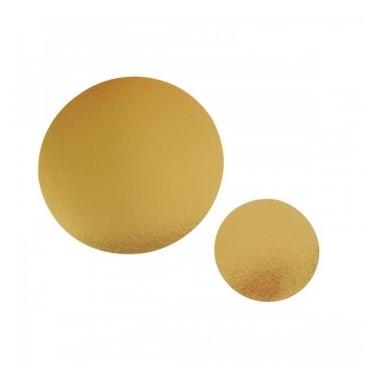 Ümmargune tordialus, 24cmx1,1mm, kuldne