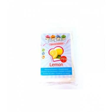 Sidrunimaitseline suhkrumass (lemon), 250g, Fun Cakes