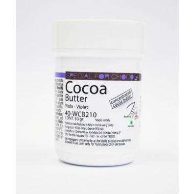 Kakaovõivärv - lilla, Martellato, 30g