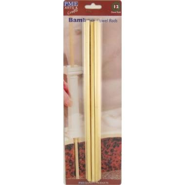 Tugivardad tordile, bambus, 12tk, PME