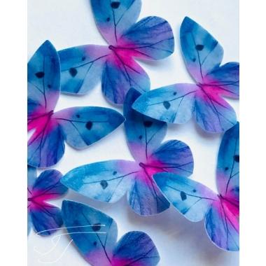Sinine liblikas - vahvlikaunistus, 20tk