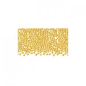 Kuldsed (söödavad) pärlid, 1mm/ 50g pk