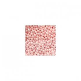 Pärlmutterroosad suhkrupärlid, 4-5mm, 50g