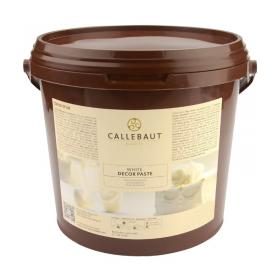 Valge kvaliteetne suhkrumass Callebaut Massa Ticino 7kg