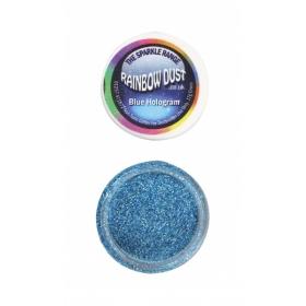 Sinine sädelev puru, Blue Hologram, 5g, Rainbow