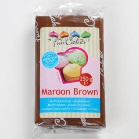 Pruun suhkrumass (maroon brown), 250g, Fun Cakes