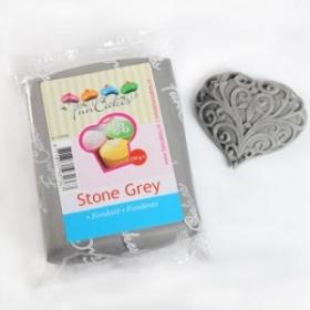 Hall suhkrumass (stone grey), 250g, FunCakes