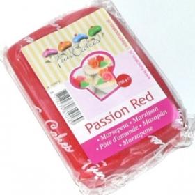 Punane martsipan (passion red) 250g - FunCakes