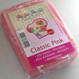Roosa martsipan (classic pink) 250g - FunCakes