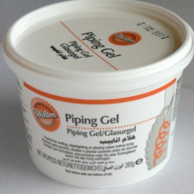 Glasuurgeel läbipaistev (Piping gel) 283g - Wilton
