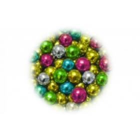 Metallikläikega pärlite segu 50g - 4mm