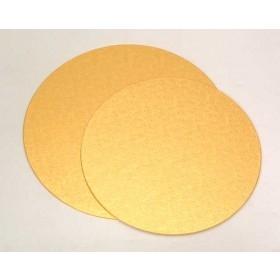 Kuldne/hõbedane 1mm õhuke tordipapp, ümar, 25cm