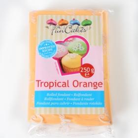 Oranž (tropical orange) suhkrumass, 250g, Fun Cakes