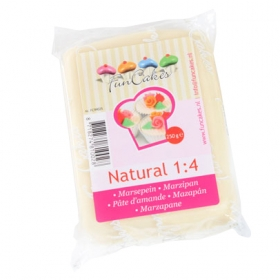 Naturaalvalge martsipan (natural 1:4) 250g - FunCakes