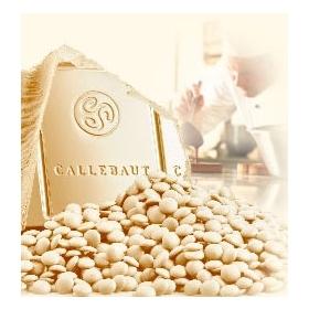 Callebaut valge šokolaadi kuvertüür 28% 2,5kg