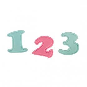 Numbrite pitsatvormid, 0-9, Cake Star