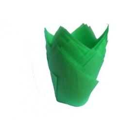 Rohelised muffiniümbrised, 20tk