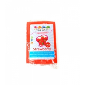 Maasikamaitseline suhkrumass (strawberry), 250g, Fun Cakes
