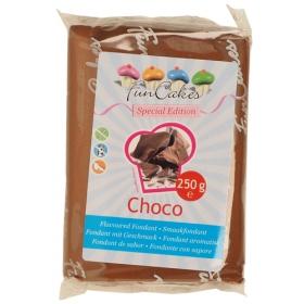 Šokolaadimaitseline suhkrumass (Choco), Funcakes, 250g