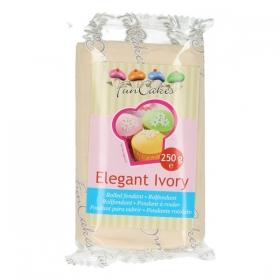Elevandiluuvärvi suhkrumass (Elegant Ivory), FunCakes, 250g