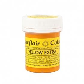 Ekstra kollane pastavärv (extra yellow), 42g, Sugarflair