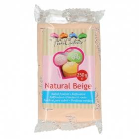 Naturaalne beež suhkrumass (natural beige), FunCakes, 250g