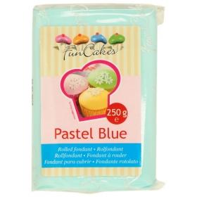 Pastelne sinine suhkrumass (pastel blue), FunCakes, 250g
