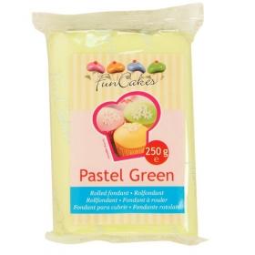 Pastelne roheline suhkrumass (pastel green), FunCakes, 250g