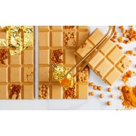 Valge kuvertüür karamelliga, Callebaut gold, 2,5kg, Callebaut