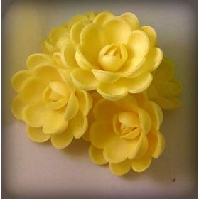 Keskmine kollane inglise roos, 5tk