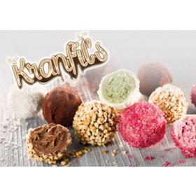 Kranfil's Red fruits - kasutusvalmis täidis punaste marjade ja küpsisetükkidega, 0,5kg