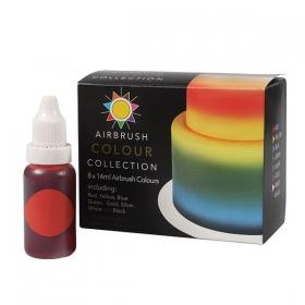 Värvipritsi värvide komplekt, 8x14ml, Sugarflair