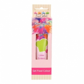 Laimiroheline geelvärv (lime green) 30g, FunCakes