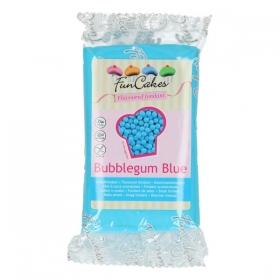 Nätsumaitseline helesinine suhkrumass (bubblegum blue) 250g, FunCakes