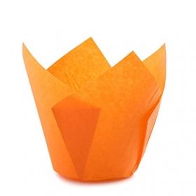 Oranžid muffiniümbrised, 20tk