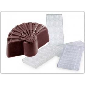 """Šokolaadivorm """"Lehvik"""" 31x26x15,5mm, 42tk Martellato"""