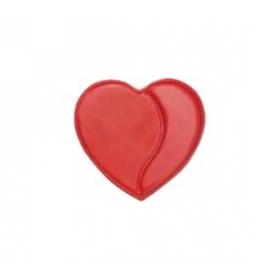 """Šokolaadikaunistus """"Punane süda"""" (red heart), 20tk"""
