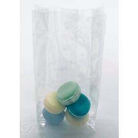 Tsellofaanist kott volditud põhjaga 9+4x20cm, 10tk