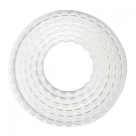 Lainelise ja sirge servaga plastikust lõikurite komplekt 6tk, CakeStar