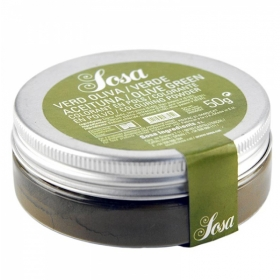 Roheline pulbervärv (green olive) 50g, SOSA