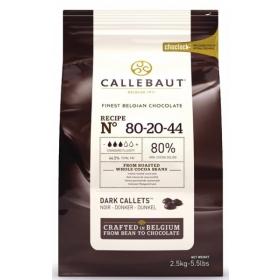 """Callebaut tume šokolaadi kuvertüür """"Callebaut powerful"""" 80%, 2,5kg"""