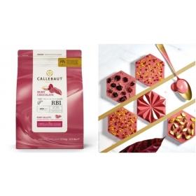 Callebaut Ruby 47,3%, 2,5kg