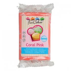 Korallroosa (coral pink) suhkrumass 250g, FunCakes