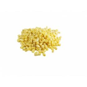 Kuldse läikega valge šokolaadi krussid - Rizo Oro Blanco, 100g