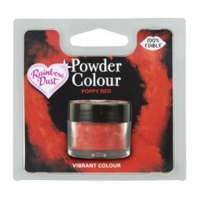 Moonipunane pulbervärv 5g (poppy red), Rainbow Dust