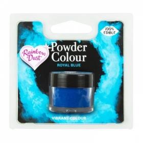 Kuninglik sinine (royal blue) pulbervärv 5g, Rainbow Dust