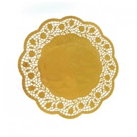 Tordi aluspits - kuldne 30cm, 4tk