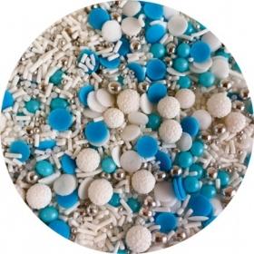 Puiste mix sinine,valge,hõbe 20G